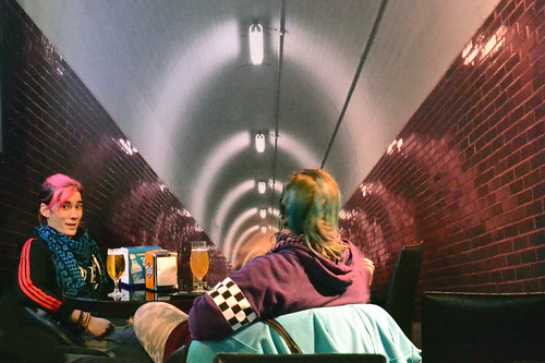 El tunel del Meli. Venta de Baños. Spain.