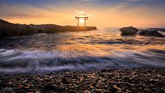 Dynamic & Static (Jiratto) Tags: aged ancient antique diamond ibaraki isosaki japan landscape nature oarai old sea seascape shrine sunrise temple tori travel