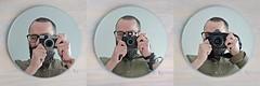 Me, Myself and I. (Breeze of the Dene) Tags: nikon df 35mm f2 d leica x1 fuji fujifilm x20 self portrait selfie mirror reflection gear