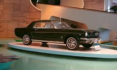 1965 Ford Mustang at 1964 World's Fair, Ford press photo (R36 Coach) Tags: fordmustang ford mustang 1965 worldsfair 1964worldsfair pressphoto presskit