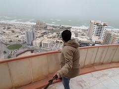 Stormy Arabian Sea in Ajman, UAE (Aoon Mujtaba) Tags: traveller traveldiaries travelling travelblogs travels asia middleeast arabiansea ajman uae youae daredevil stormy photography winter2k17