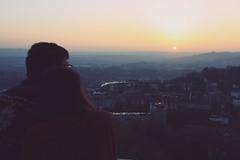Vicinanze. (||| DavidO LestrangE |||) Tags: bristol vicinanze cabottower tower sunset tramonto cabot johncabot couple romantic view davidography