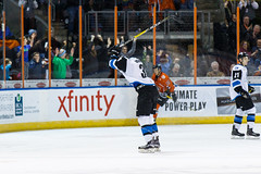 "Missouri Mavericks vs. Wichita Thunder, February 3, 2017, Silverstein Eye Centers Arena, Independence, Missouri.  Photo: John Howe / Howe Creative Photography • <a style=""font-size:0.8em;"" href=""http://www.flickr.com/photos/134016632@N02/32561323762/"" target=""_blank"">View on Flickr</a>"