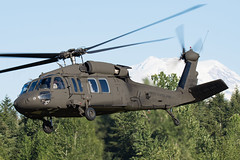COUGAR 77 (Kaiserjp) Tags: 8323930 cougar77 ftlewis grayaaf jblm usarmy uh60 uh60a blackhawk sikorsky helicopter army military mtrainier