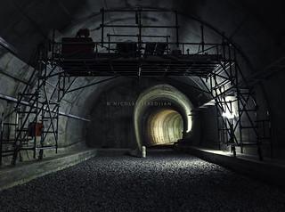Terminaciones finales en túnel doble secundario de la Cochera Parque Patricios - Línea H