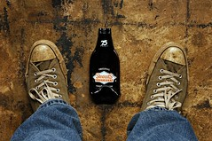 I'm Feeling About as Flat as my Root Beer (Studio d'Xavier) Tags: werehere thisishowifeeltoday flat f fromwhereistand rootbeer 365 february62017 brown