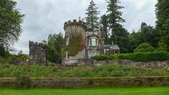 Porter's lodge from Gartmore House (RIch-ART In PIXELS) Tags: gartmore aberfoyle scotland gatehouse porterslodge leicadlux6 leica dlux6 castle estate schotland buildingcomplex architecture unitedkingdom stirling