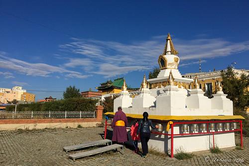 Circuiting the Stupa 5739