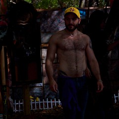 Trail of treasure (LarryJay99 ) Tags: armpits armstattoos beard deerfieldbeach dimples dude dudes facialhair festival festivals florida guy guys hairychest hotman hunk lake light male man men navel nipples nipplesrings outside park peekingpits people profile quietwaterspark renaissancefestival sexysexyman smallwater smile stud sunlight torso treasuretrail water watersport waterskiing yellow westpalmbeach palmbeach