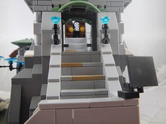 Looking through Entrance Hall (donuts_ftw) Tags: mountain temple lego monastery fantasy scifi mountaintop