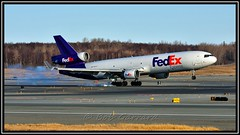 N583FE FedEx - Federal Express (Bob Garrard) Tags: express douglas fedex anc federal md11 mcdonnell md11f panc n583fe