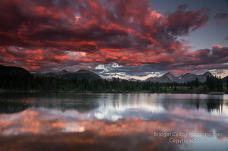 Molas Lake Reflections
