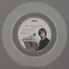 Dave Edmunds - Don't Call Me Tonight (Leo Reynolds) Tags: colour vinyl clear single record squaredcircle transparent disc platter 45rpm 7inch xleol30x sqset120 xxx2015xxx