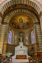 Notre dâme de Lapeyrouse à Lafrançaise intérieur (Raphael_Flikr) Tags: chapelle lapeyrouse lafrançaise