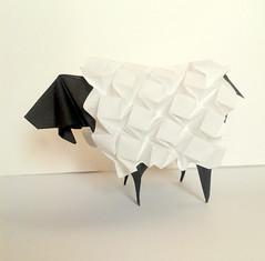 Sheep (orig4mi.) Tags: paper origami sheep fold