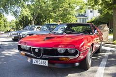 Alfa Romeo Montreal (Hertj94 Photography) Tags: coffee canon illinois montreal july classics alfa romeo t3 2014 winnetka fuelfed