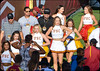 USC Song Girls (bighornplateau1) Tags: uscfootball uscfootball2015stanford crowdfaces trojans cheer cheerleaders songgirls 2015 usc
