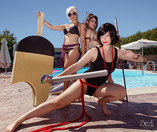 1st Greek Pool Party Photoshoot! GROUP PHOTOS - by SpirosK photography