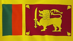 Loopable: Flag of Sri Lanka - Creative Commons Footage (znichka.footage) Tags: holiday closeup freedom design election shiny day symbol loop lka flag politics country banner large silk culture objects sri textile celebrations fabric national finish animation government srilanka rippled satin independence lk patriotism seamless rendered textured detailed slowmotion realistic threedimensional closeupshot srilankans democraticsocialistrepublicofsrilanka loopable southcentralasia srijayewardenepurakotteseecolombo