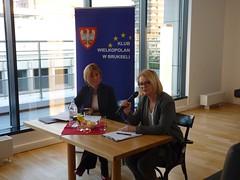 Spotkanie w Klubie Wielkopolan w Brukseli