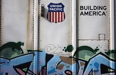 Where Y'at (quiet-silence) Tags: railroad art train graffiti streak railcar unionpacific graff freight reefer armn fr8 moniker whereyat armn766254