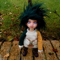 Meet Hugo! (rebeccaclarke130) Tags: bjd sarang fairyland yosd littlefee