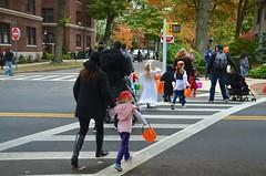 Heading To Burns Street (Joe Shlabotnik) Tags: halloween lily violet sue madeleine everett sarahp 2015 afsdxvrzoomnikkor18105mmf3556ged october2015