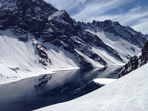 Laguna del Inca in the afternoon