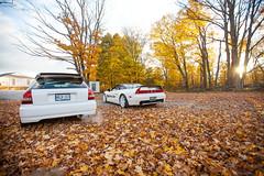 """Unicorns"" (Emilio Ciccarelli | www.TWOLITREmedia.com) Tags: fall cars leaves honda automotive modified civic ek acura jdm nsx typer ctr nsxr ek9"