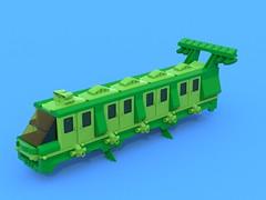 BIOTRON 0342 (Crimso Giger) Tags: green lego render space moc afol ldd biotron legodigitaldesigner bluerender