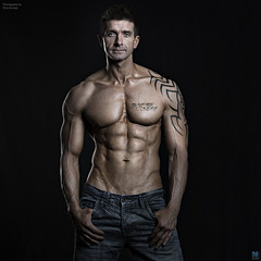 Charles Townend NFM (TerryGeorge.) Tags: photoshoot natural muscle models workout fitness toned abs sixpack
