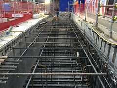 Photo of Crossrail at Farringdon.