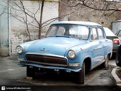 Volga /  (junkyardcollection) Tags: abandoned gaz soviet volga ussr abandonedcar abandonedcars gaz21 sovietcar gaz21volga