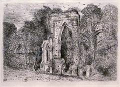 John Constable (rocor) Tags: sanfrancisco etching johnconstable netleyabbey fineartsmuseums legionofhonorsf