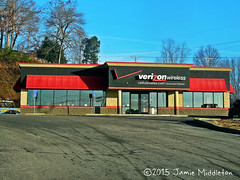 Former Blockbuster Video -- Corbin, Kentucky (xandai) Tags: store video kentucky ky verizon blockbuster corbin