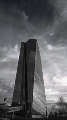 Megalith (Nihil Baxter007) Tags: money building skyline office frankfurt main haus ecb hochhaus geld ezb zentralbank europische
