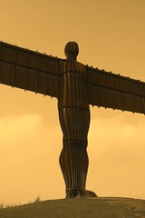 A peaceful and blessed New Year 2017 (Christopher DunstanBurgh) Tags: angelofthenorth gateshead gormley