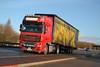 DAF XF 105 reg DE60 HHB (erfmike51) Tags: dafxf105 truck artic curtainside lorry