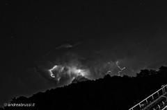 andreabrussi.it - thunderbolt 22 (Uploading in progress!) Tags: thunderbolt fulmine temporane notte impianti cava quarry plants night