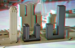 Boston & Seattle Kop van Zuid Rotterdam 3D (wim hoppenbrouwers) Tags: bostonseattle kopvanzuid rotterdam 3d anaglyph stereo redcyan maquette nieuwbouw neworleans models new orleans de rotterdamthe saxhavana philadelphia sax havana thesaxhavanaphiladelphia hoogbouw rijnhaven