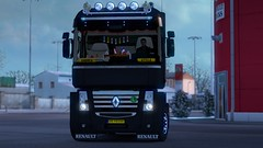 (ScaniaBilerV8) Tags: ets2 renault magnum 440 matte winter cold
