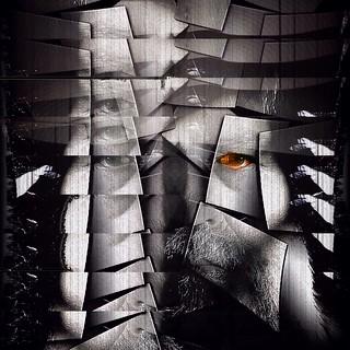 Cubist Experiment 4 - Self Portrait