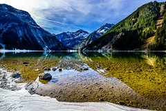 Bergsee (K.H.Reichert) Tags: ostalpen tannheimertal tirol österreich alpen eis austria spiegelung berge wasser reflection allgäueralpen bergsee mountain gemeindetannheim at vilsalpsee