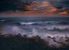 seascape (Swasti Verma) Tags: seascape sea ocean waves sunset pondichery india clouds light bayofbengal coast nature landscape