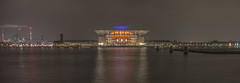 Copenhagen Opera House (DC P) Tags: the copenhagen opera house is national denmark among most modern houses world it located island holmen central ap møller chastine mckinney foundation donated mærsk maersk operaen long exposure night nightlife nightfall nightshot nice pov panorama wide wideangle cityscape city cities view reflection reflections mirror visit ngc