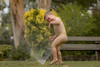 Happy Days(hr) (wildharps) Tags: water sprinkler boy nsw christmas naked play playing child