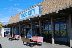 Food City, Parker Arizona (Cragin Spring) Tags: arizona az west unitedstates usa unitedstatesofamerica grocery grocerystore store market foodcity parker parkeraz parkerarizona building sign