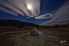 Strange selfie (Riccardo Maria Mantero) Tags: clouds mantero riccardomantero riccardomariamantero blue deathvalley desert dunes landscape night outdoors panamint park selfie sky travel usa
