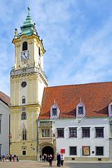 Slovakia-03203 - Old Town Hall (archer10 (Dennis) 90M Views) Tags: slovakia globus sony a6300 ilce6300 18200mm 1650mm mirrorless free freepicture archer10 dennis jarvis dennisgjarvis dennisjarvis iamcanadian novascotia canada bratislava