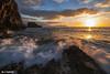 Happy new year friends from flickr (jopas2800) Tags: sunrise mediterráneo rocks clouds sunny waves spain murcia landscape island reflexes nikond610 tokina